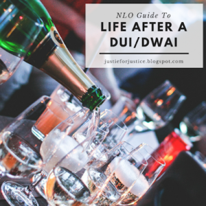 Justie Nicol Criminal Defense Attorney. Champagne Pouring into a Table Crowded with Bottles; Life After a DUI/DWAI