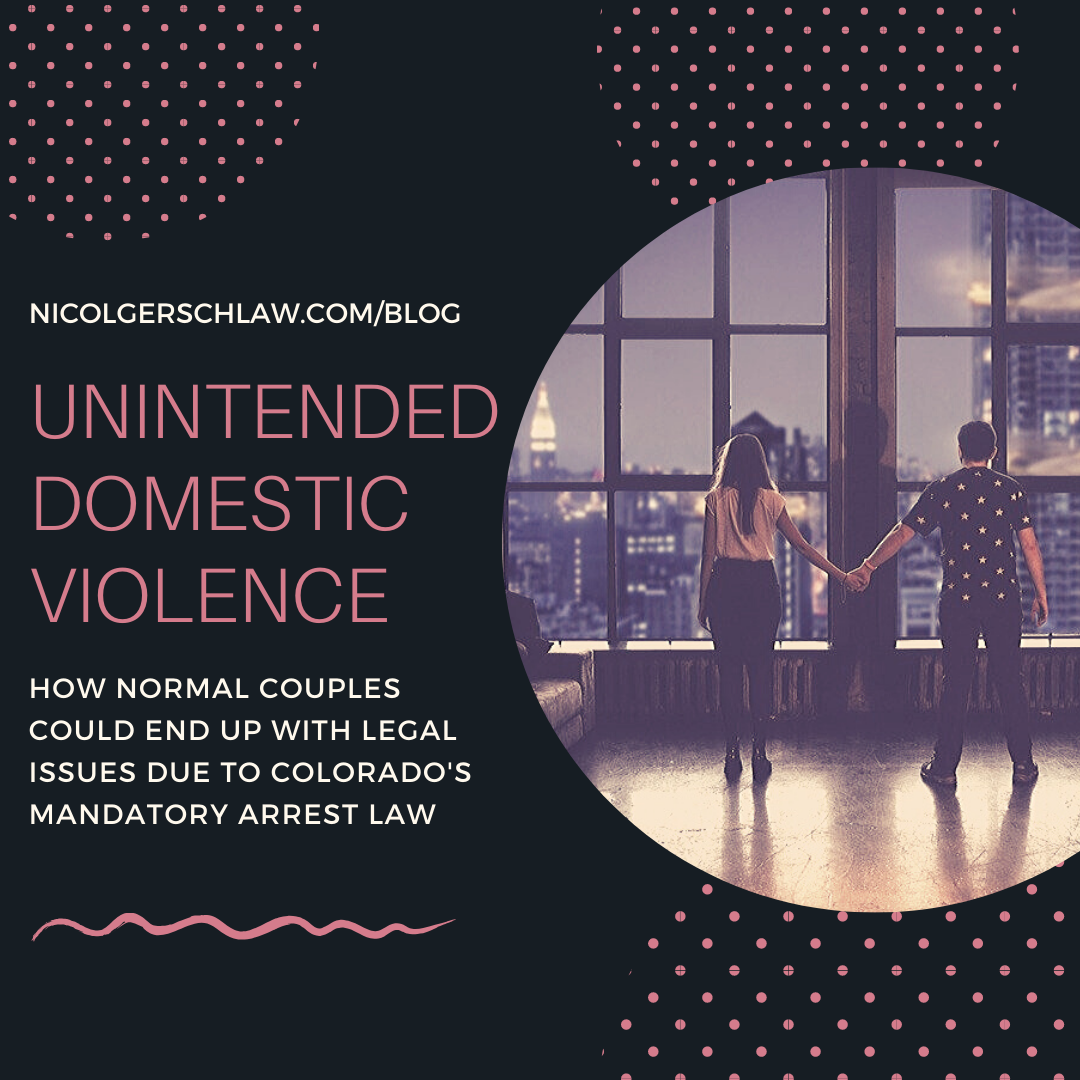 Unintended Domestic Violence