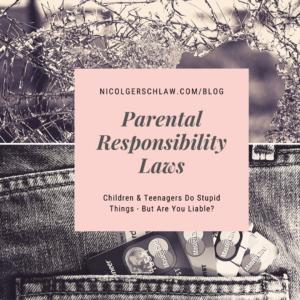 4.26.20 Parental Responsibility Laws