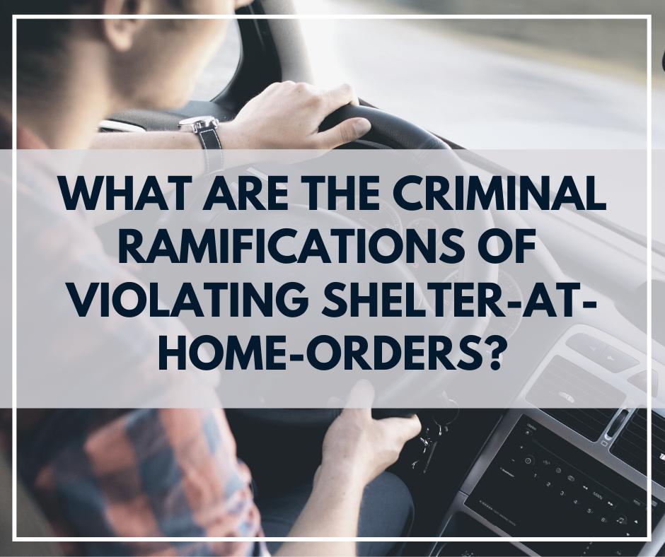 4.29. 20 Violating Shelter-at-Home Orders