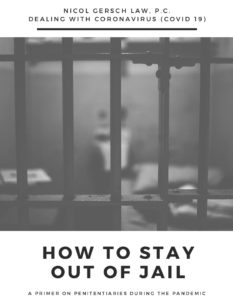 stay out of Jail