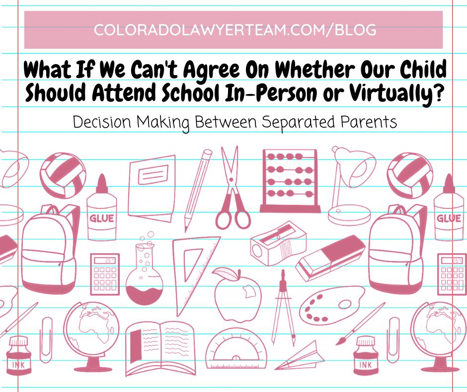 Decision Making Between Separated Parents