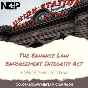 Enhance Law Enforcement Integrity