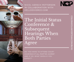 09.15.20 ISC and Hearings When Both Parties Agree