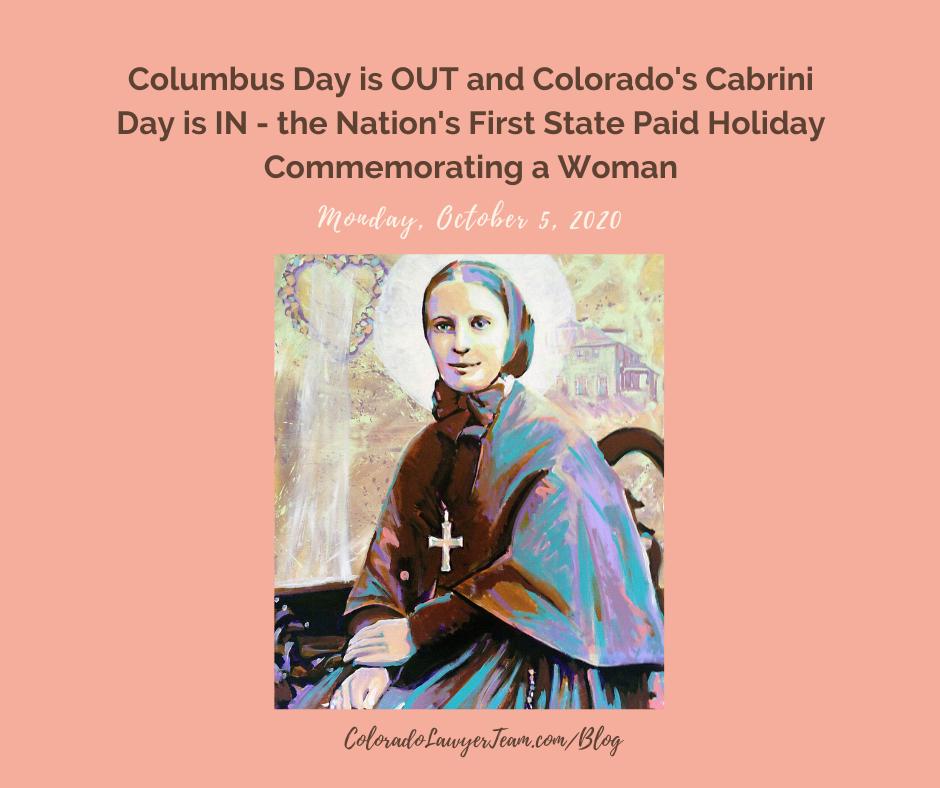 Colorado's First Cabrini Day