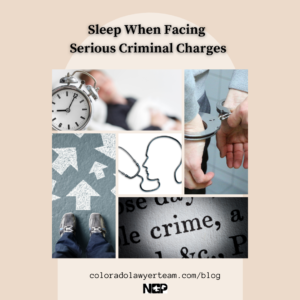 Sleep criminal charges