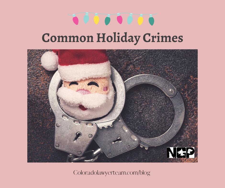 Holiday Crimes