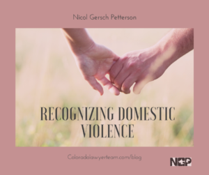 Forms of Domestic Violence