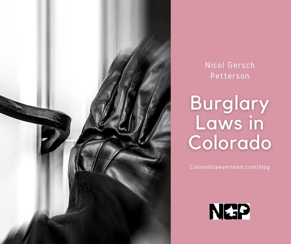 Colorado burglary