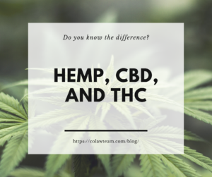 Hemp, CBC, and THC Explain the Difference