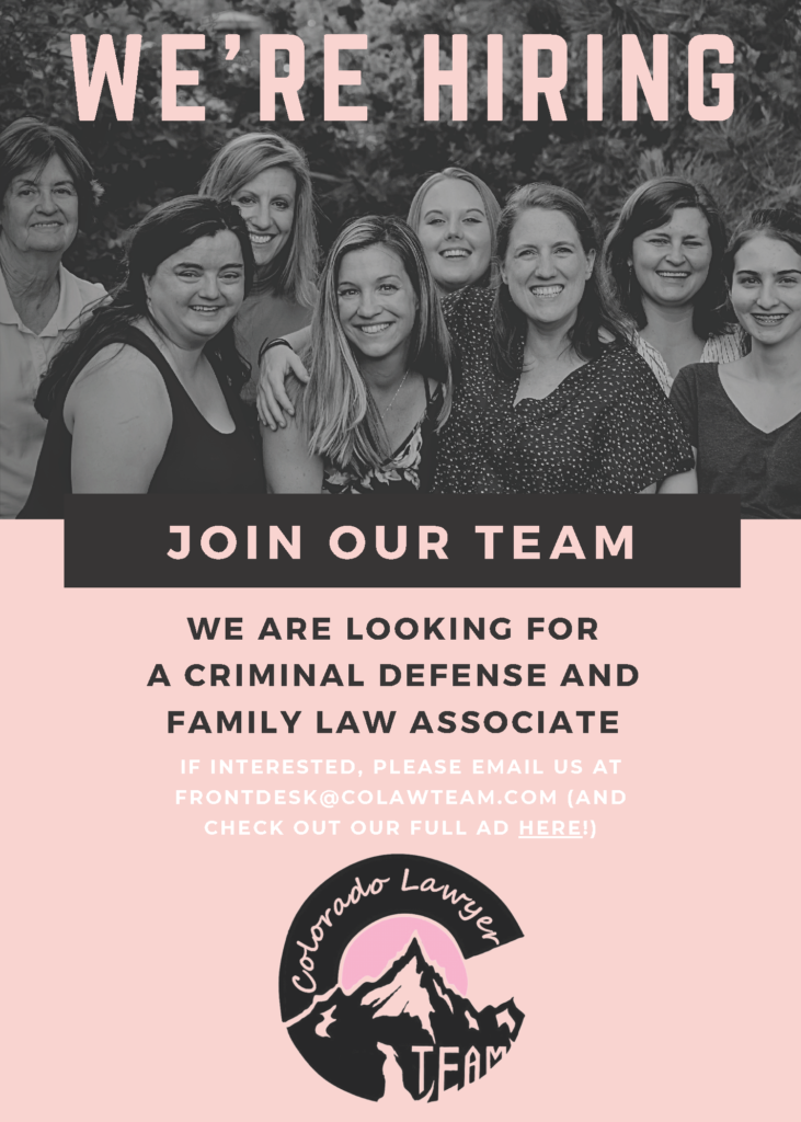 we're hiring associate attorney and job opening criminal defense and family law lawyer