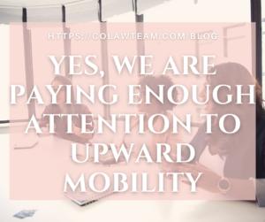 lawyer moms; upward mobility